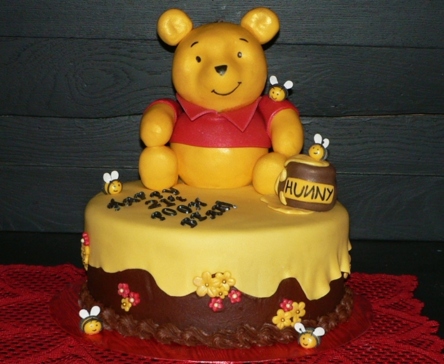 Pooh Bear Cakes Recipes