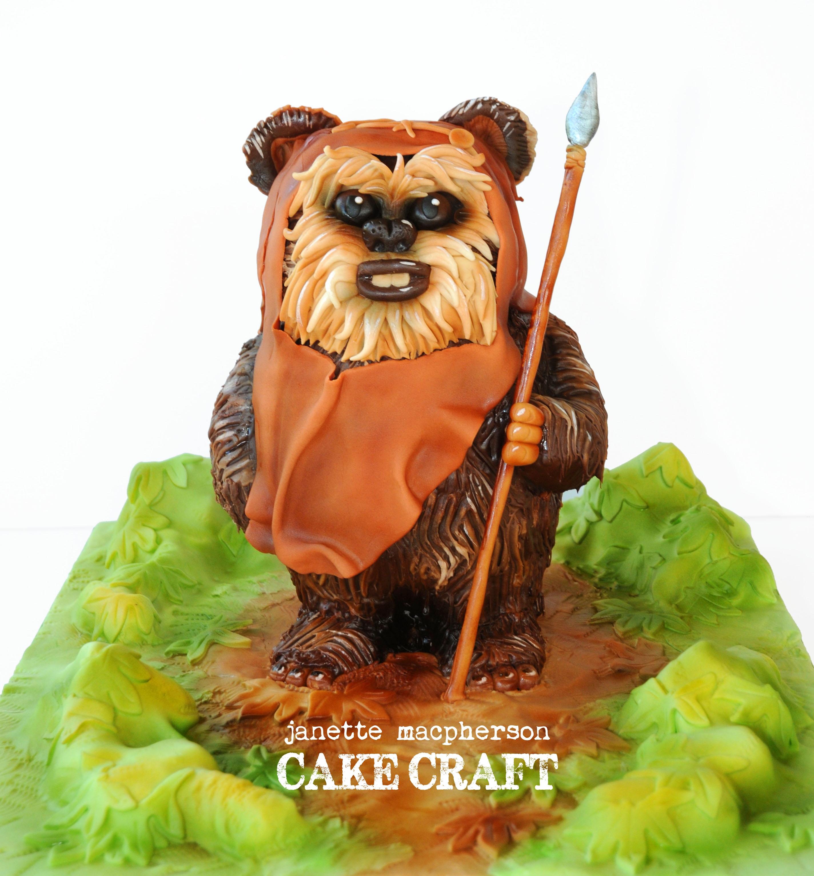 Ewok Cake Cakecentral Com
