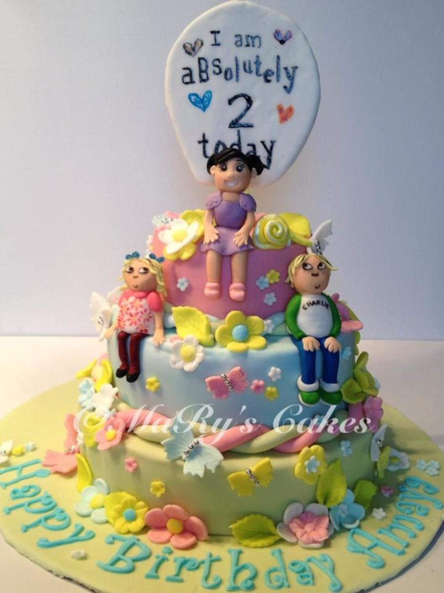 My Daughters 3 Tier Second Birthday Cake Inspired By Her Favourite