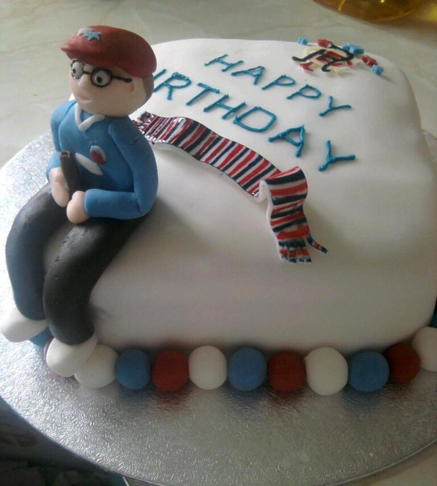A Glasgow Rangers Cake Cakecentral Com