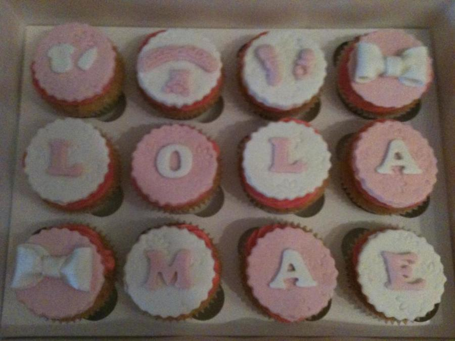 Vanilla 'girl' Cupcakes  on Cake Central