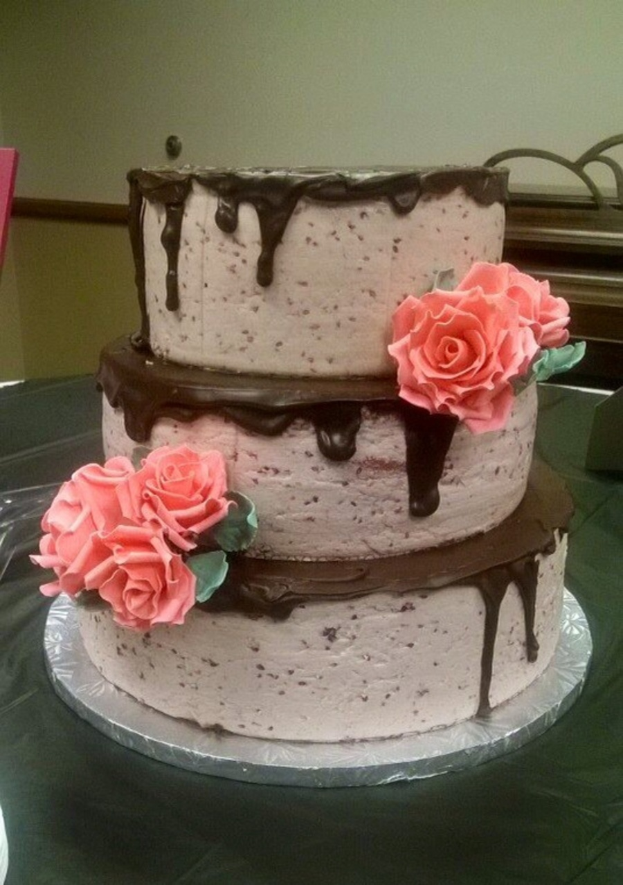 neapolitan wedding cake raspberry neapolitan wedding cake cakecentral 17797