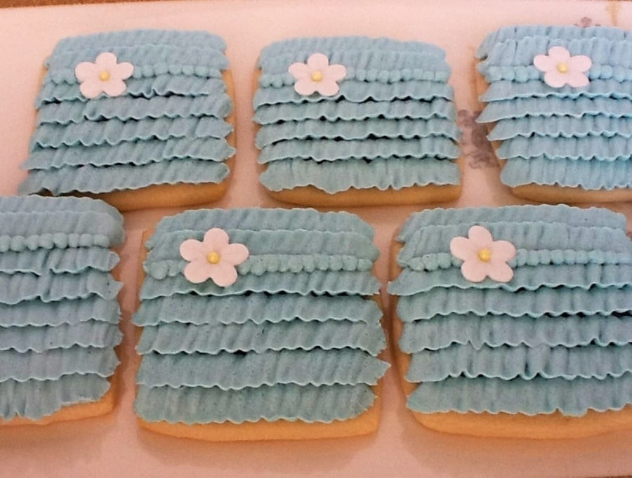 Buttercream Ruffle Cookies on Cake Central