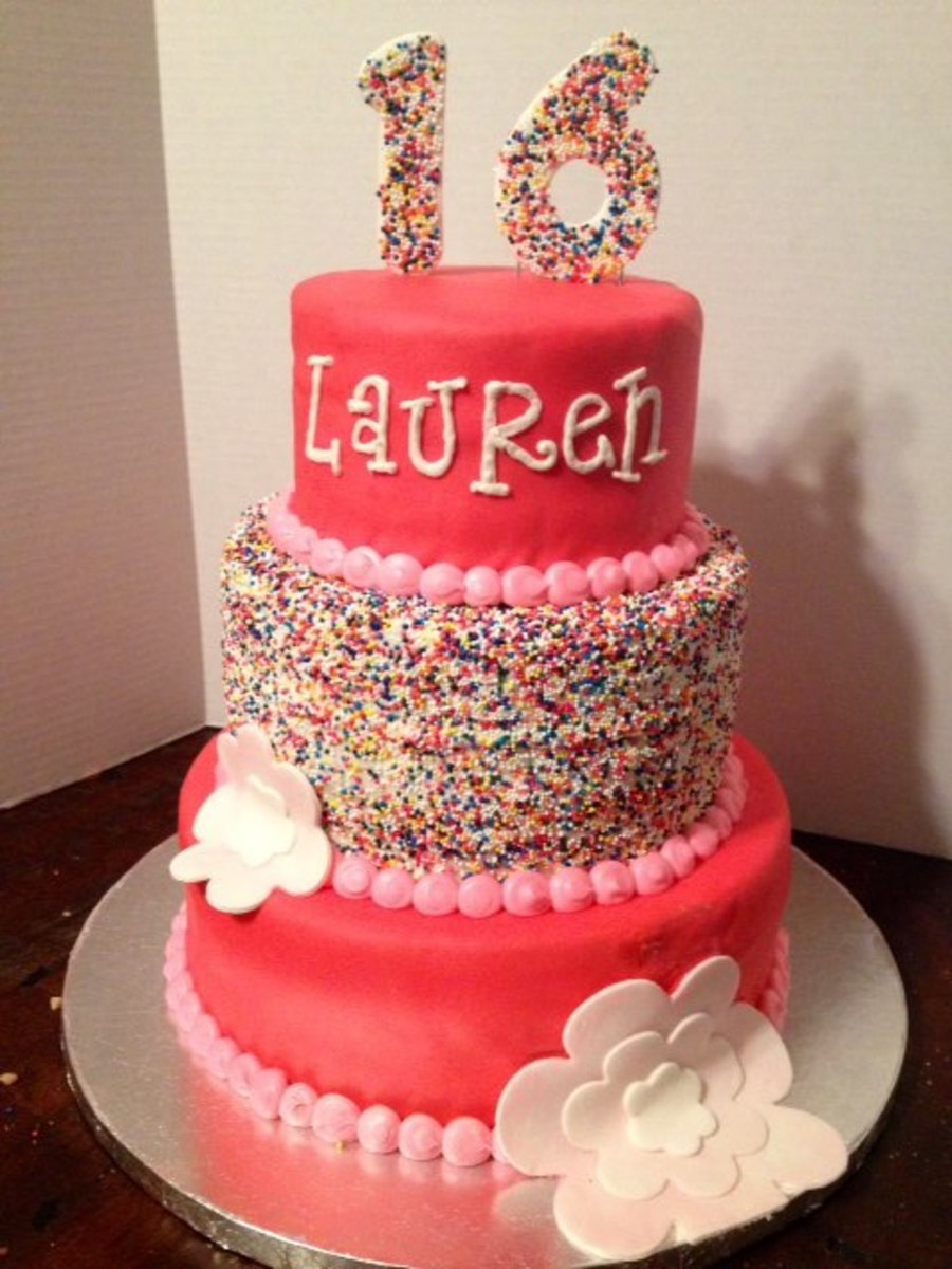 Girly Girl Birthday Cakes on Cake Central
