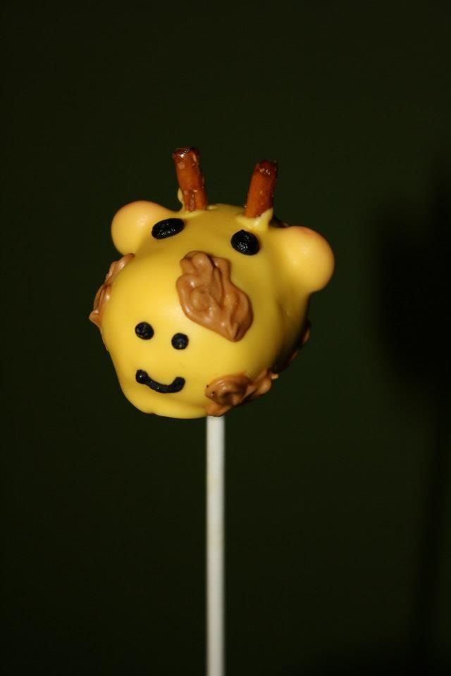 Giraffe Cake Pop Recipe
