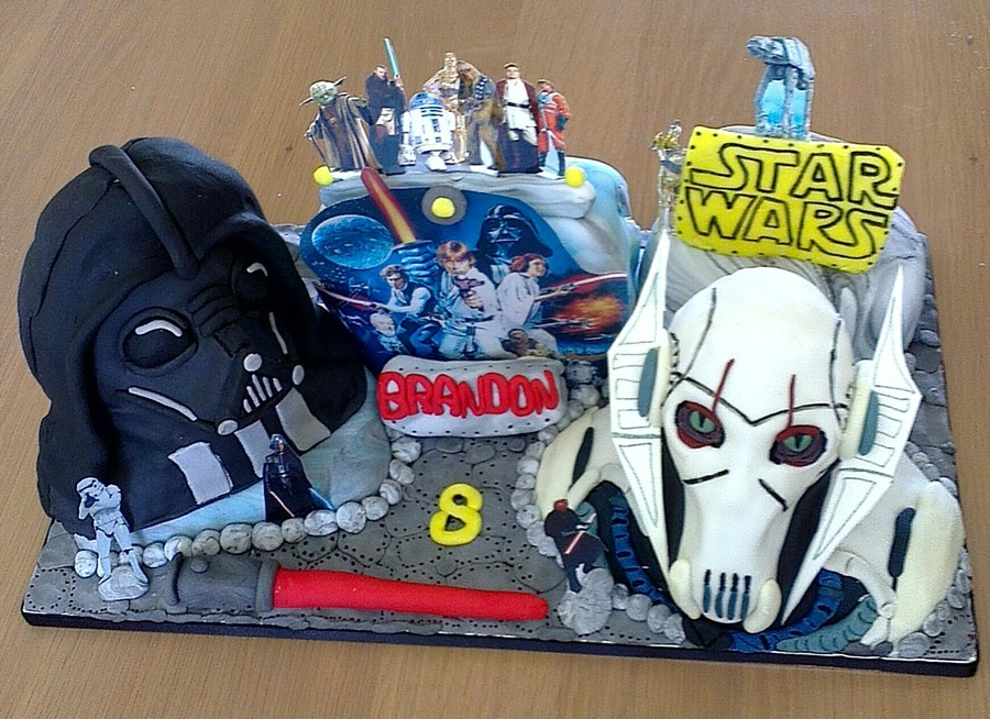 The Ultimate Star Wars Cake  on Cake Central