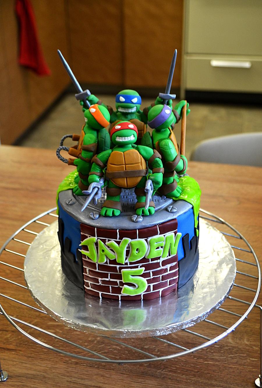Happy Birthday Cake Tmnt