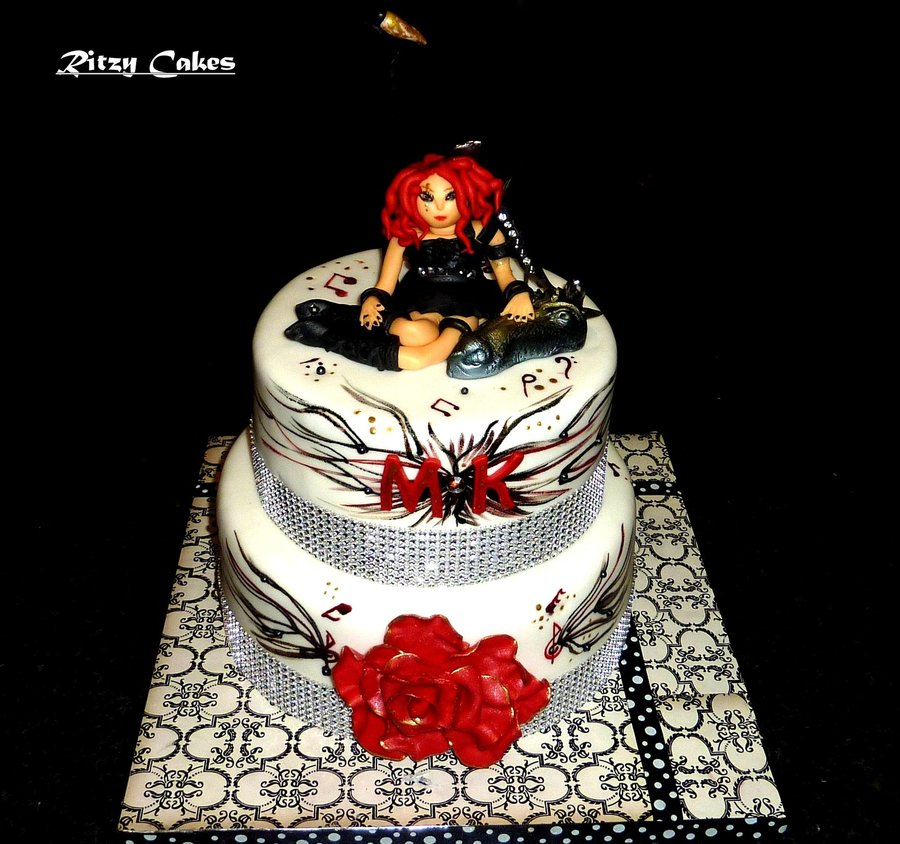 All Edible Miss Krystle Specialty Cake on Cake Central