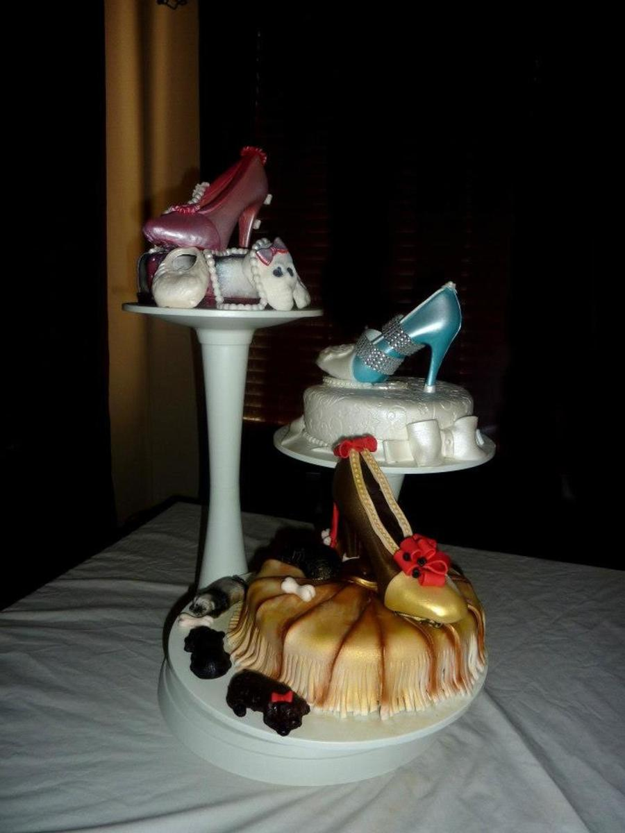 Three-Levels, Chocolate Heels And Cake on Cake Central