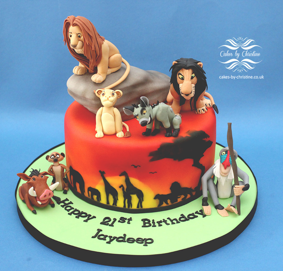 The Lion King Cakecentral Com