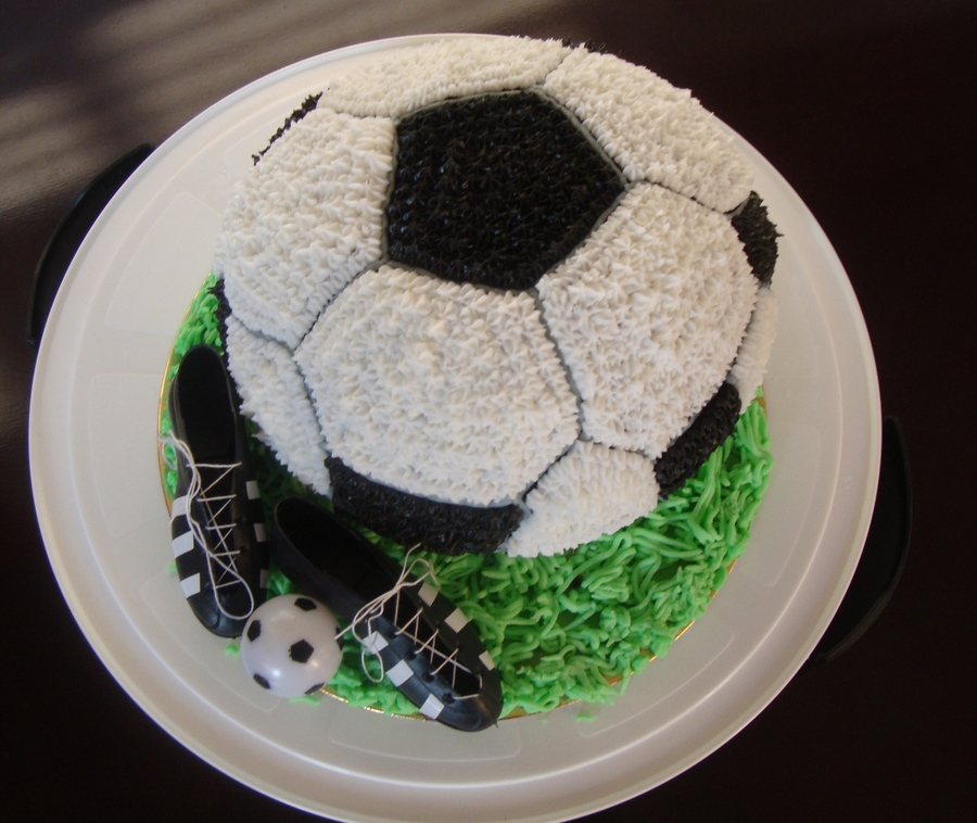 I Made This Soccer Cake Yesterday For My Little Boys 2Nd Birthday