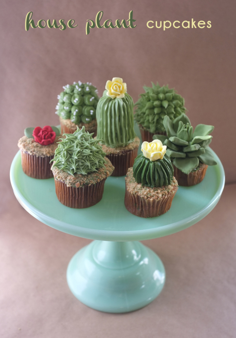 House Plant Cupcakes on Cake Central