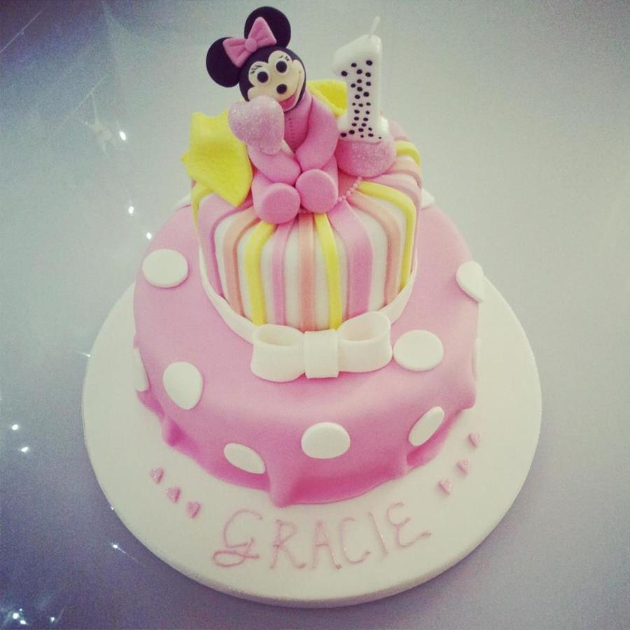 Baby Minnie Cake on Cake Central