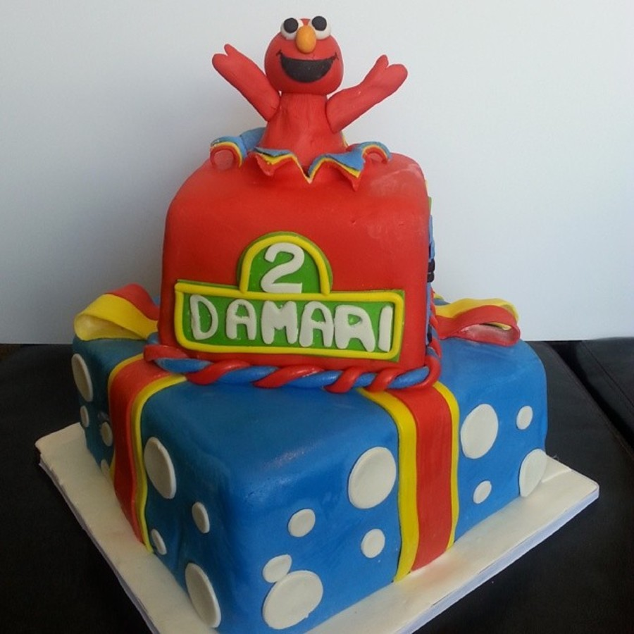 Elmo Theme Birthday Cake On Central