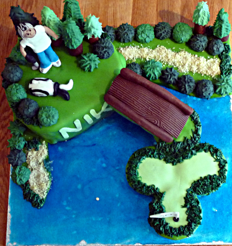 Edible Cake Decorations Golf