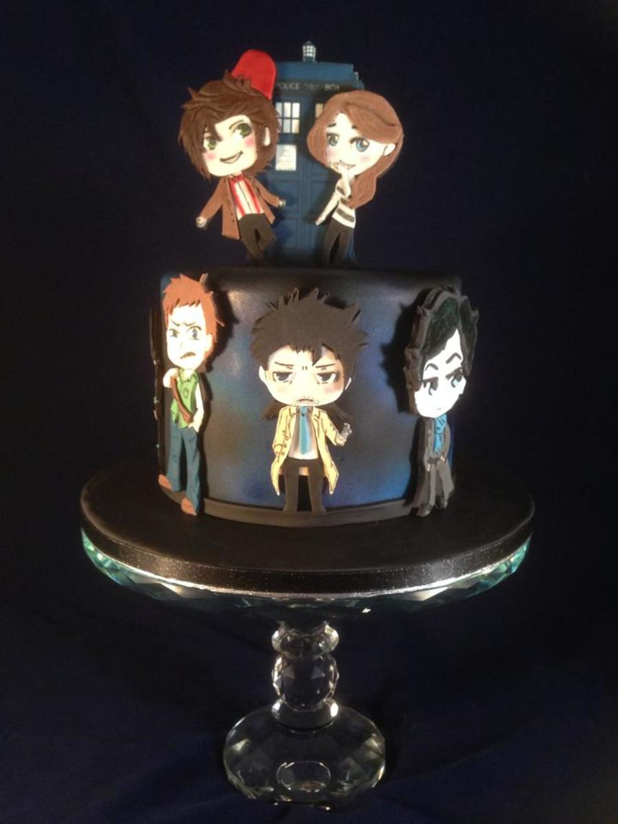 Chibi Style Birthday Cake Cakecentral
