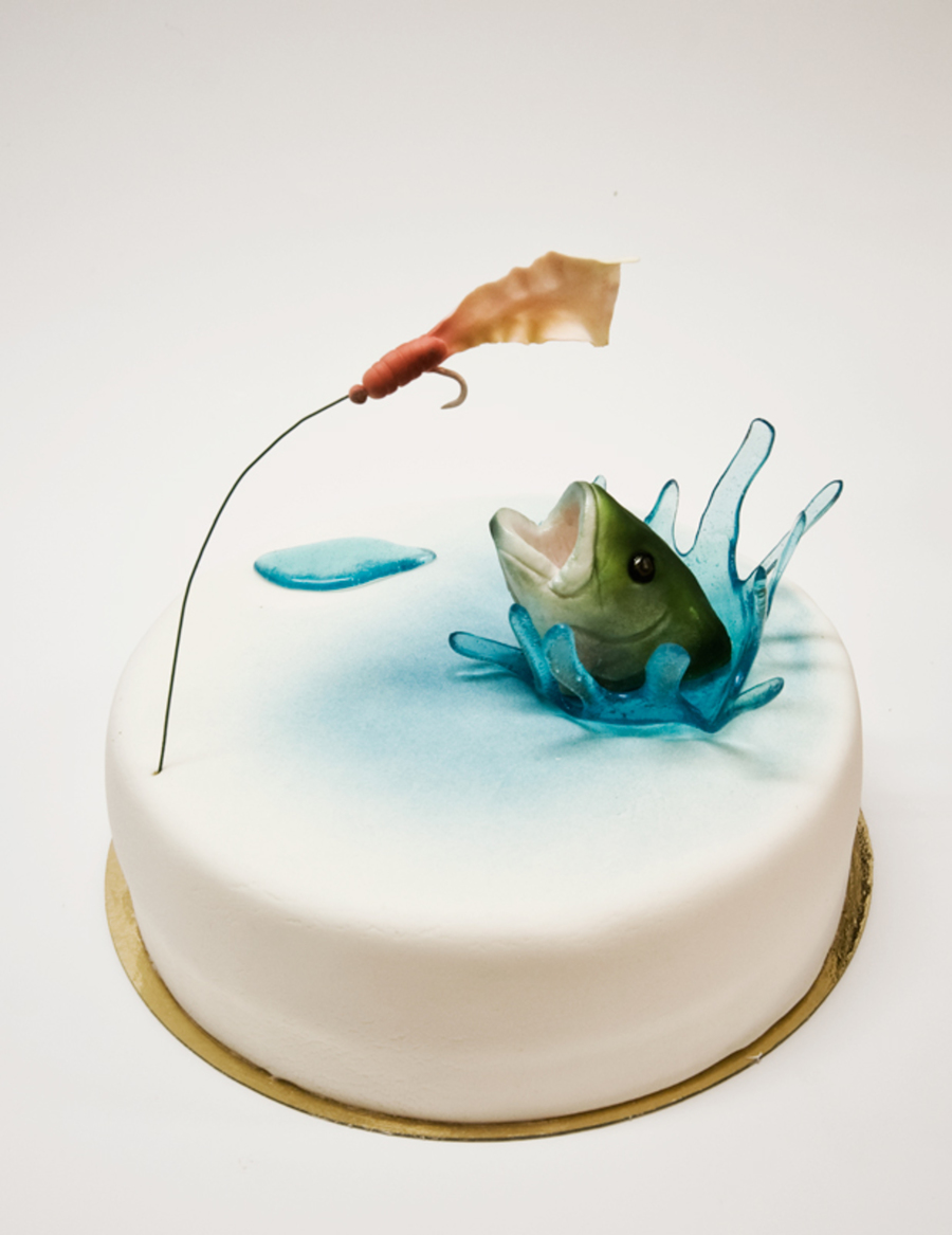 3D Fish Cake on Cake Central