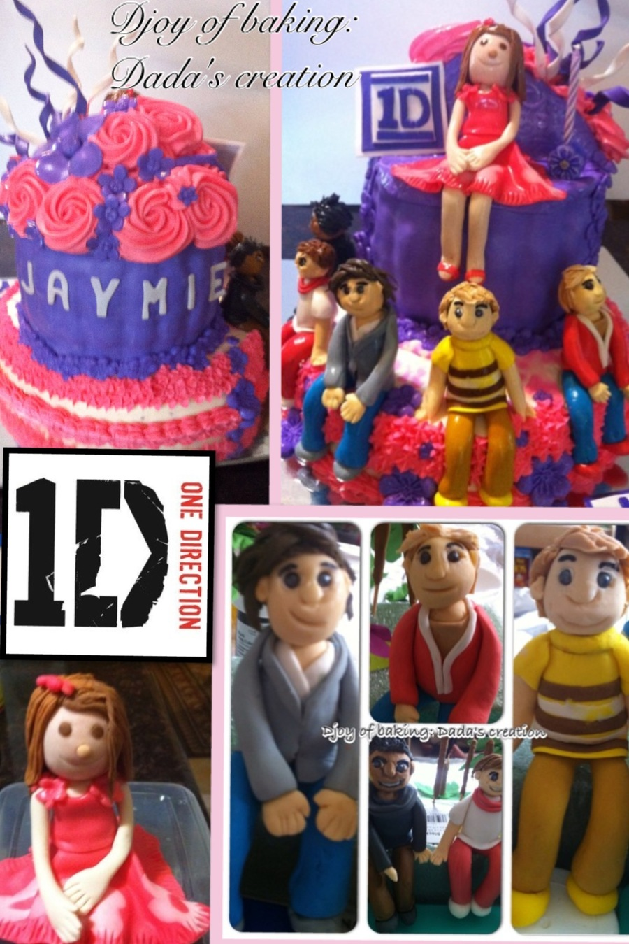1D (One Direction) Cake on Cake Central