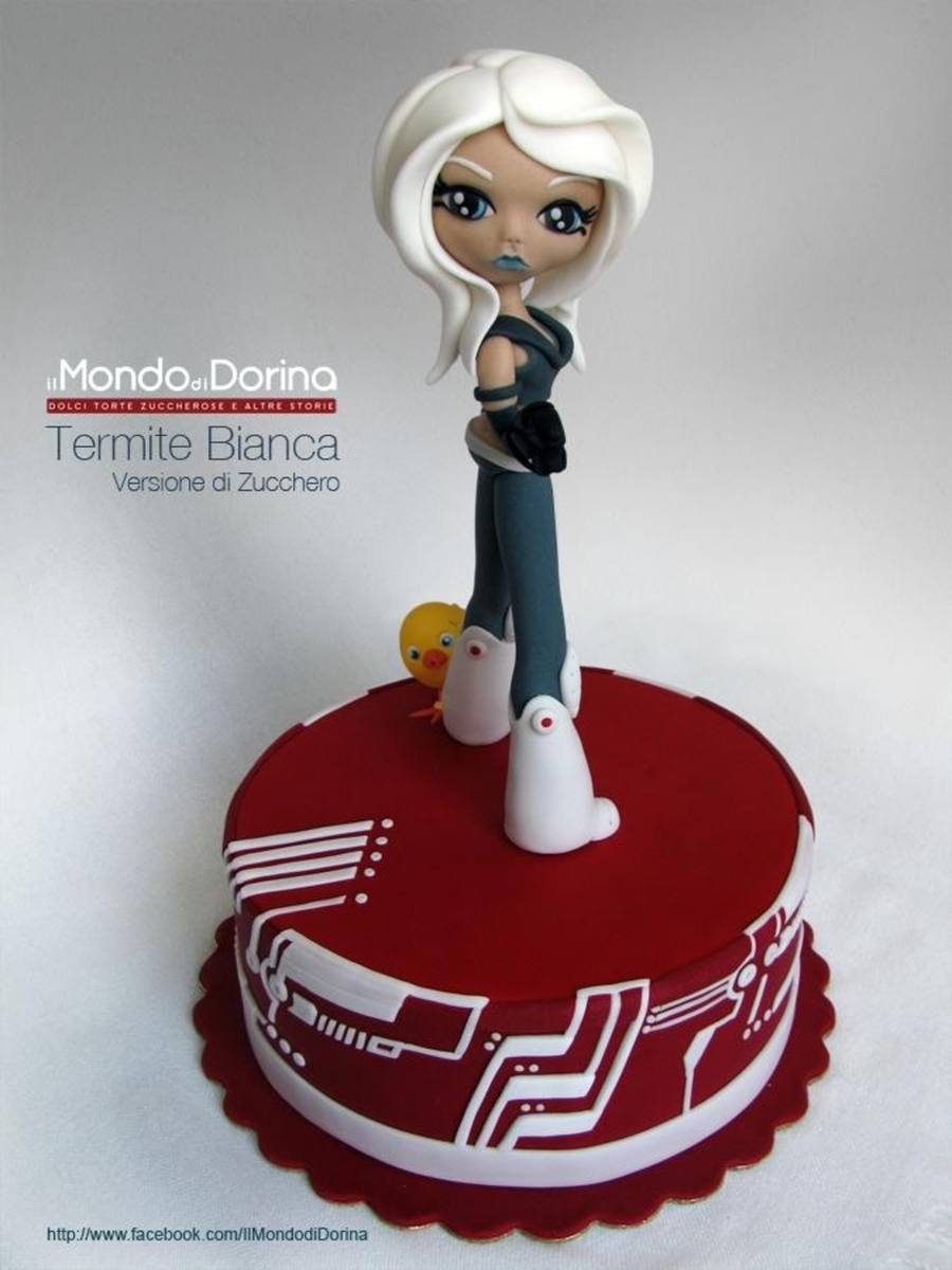 Termite Bianca  on Cake Central
