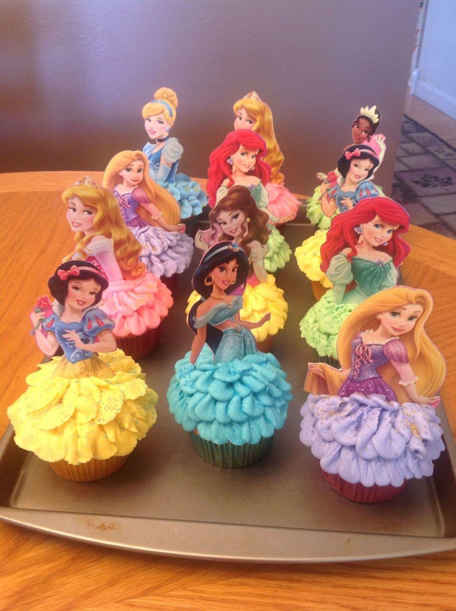 Disney Princess Cupcakes Cakecentral Com