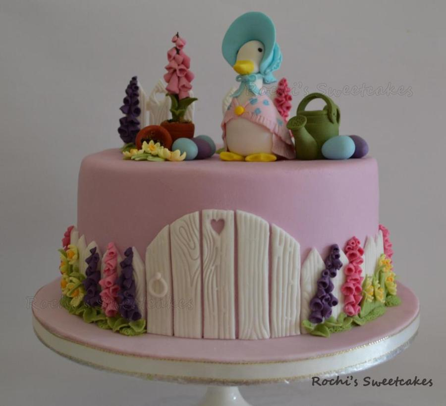 Easter Cake With Beatrix Potter Theme Cakecentral Com