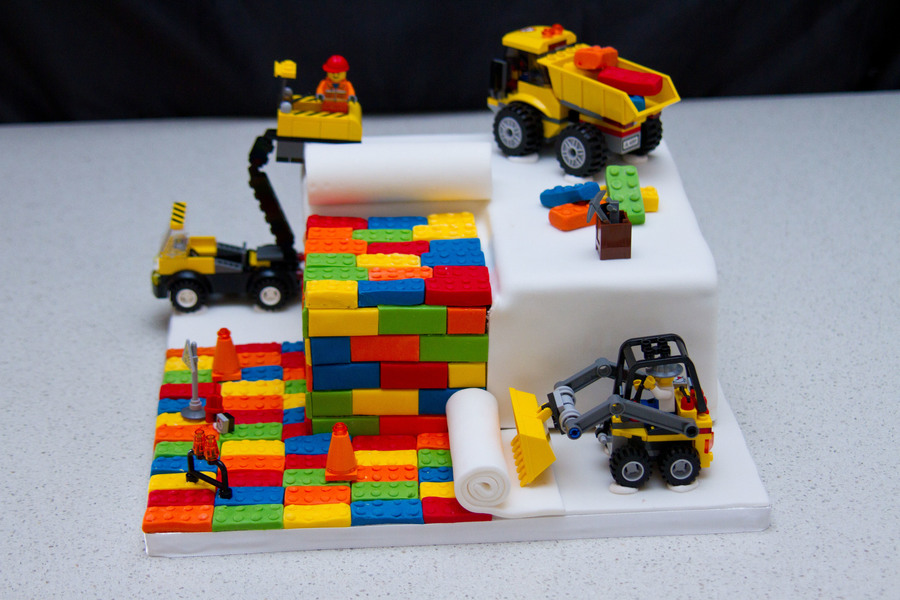 Lego City Birthday Cake Images