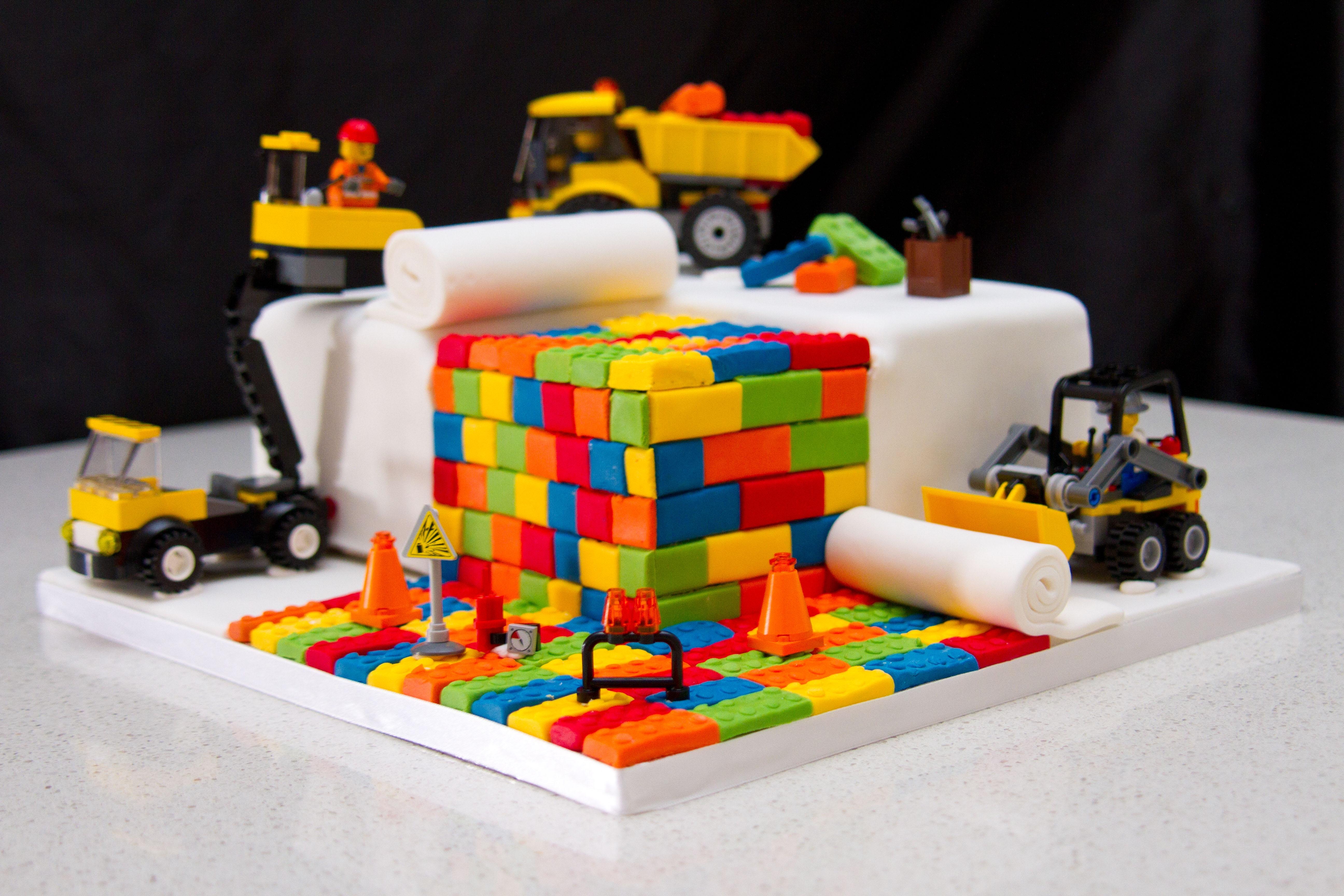 Birthday Cake Ideas Lego ~ Novelty lego cake cakecentral