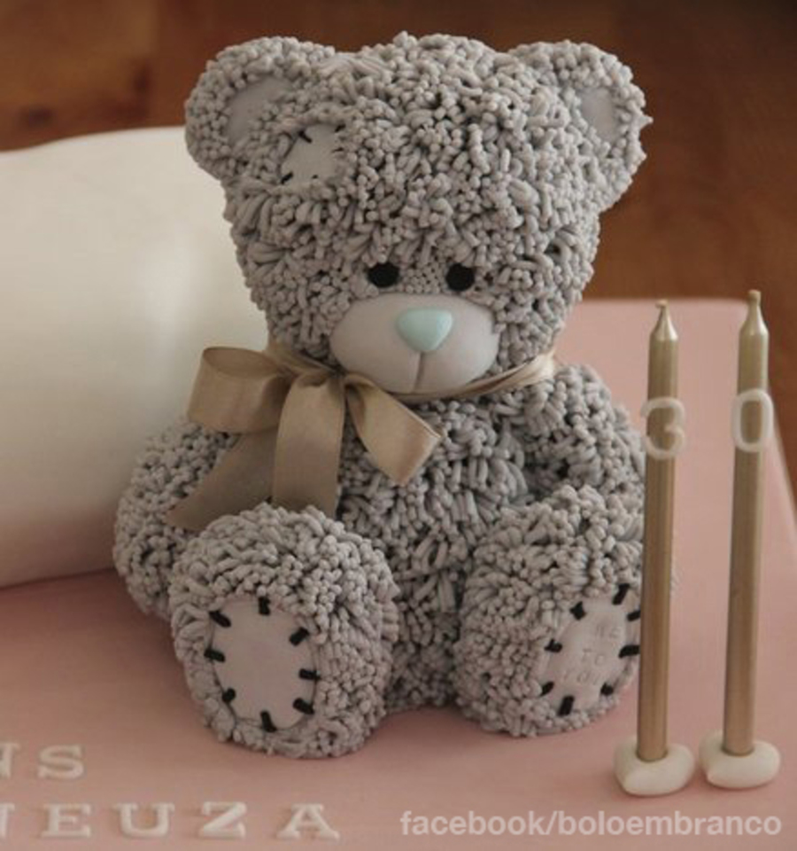 3d Pillow Cake With Me To You Teddy Bearsponge Cake With A