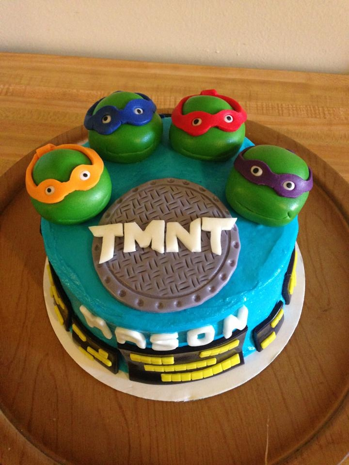 Ninja Turtles Birthday Cake Cakecentral