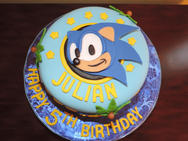 Sonic The Hedgehog Birthday Cake Cakecentral Com