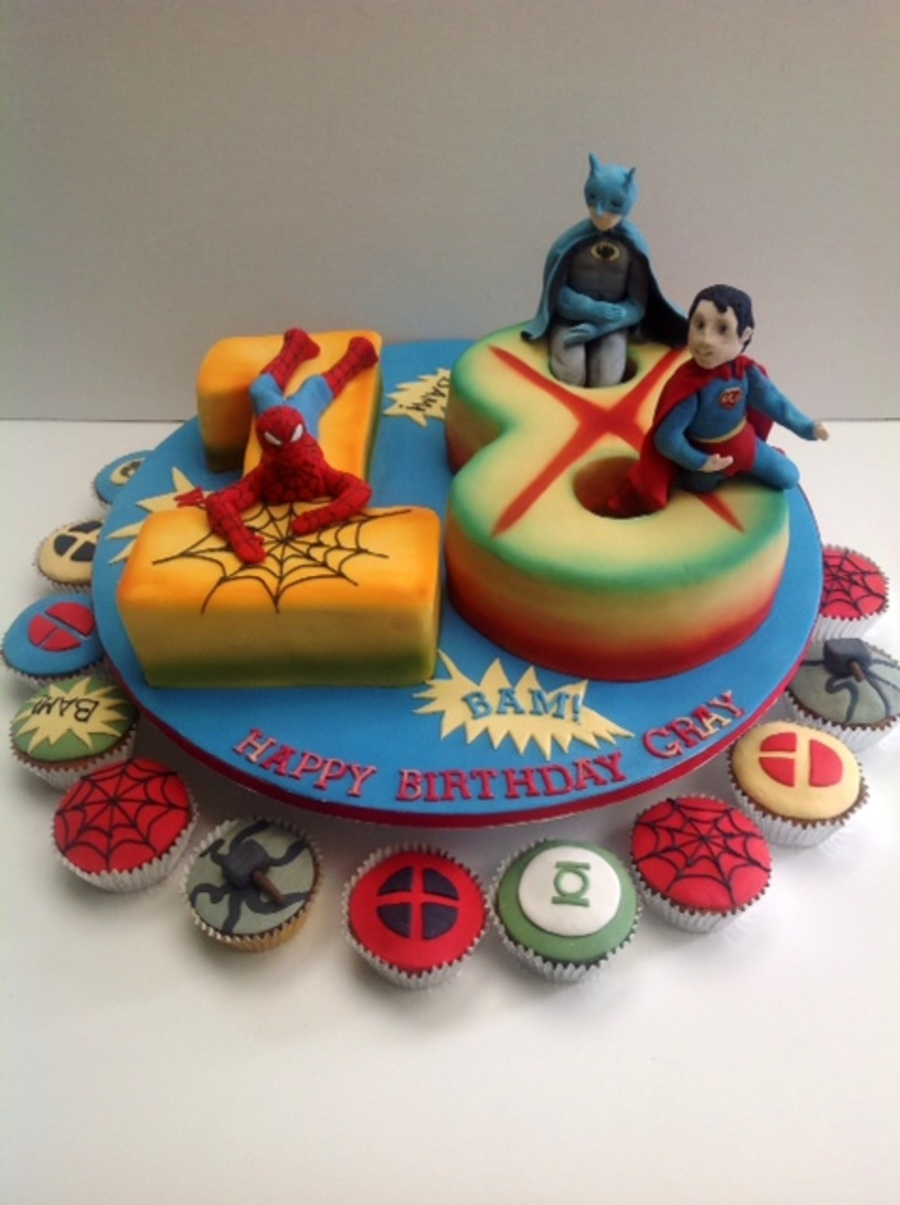 Superheros on Cake Central