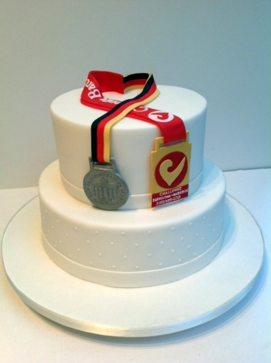 Made For The Wedding Of Two Marathon Runners Medals And