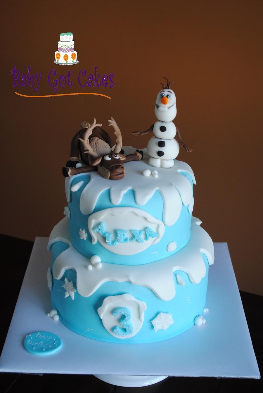 Disney S Frozen Cakecentral Com