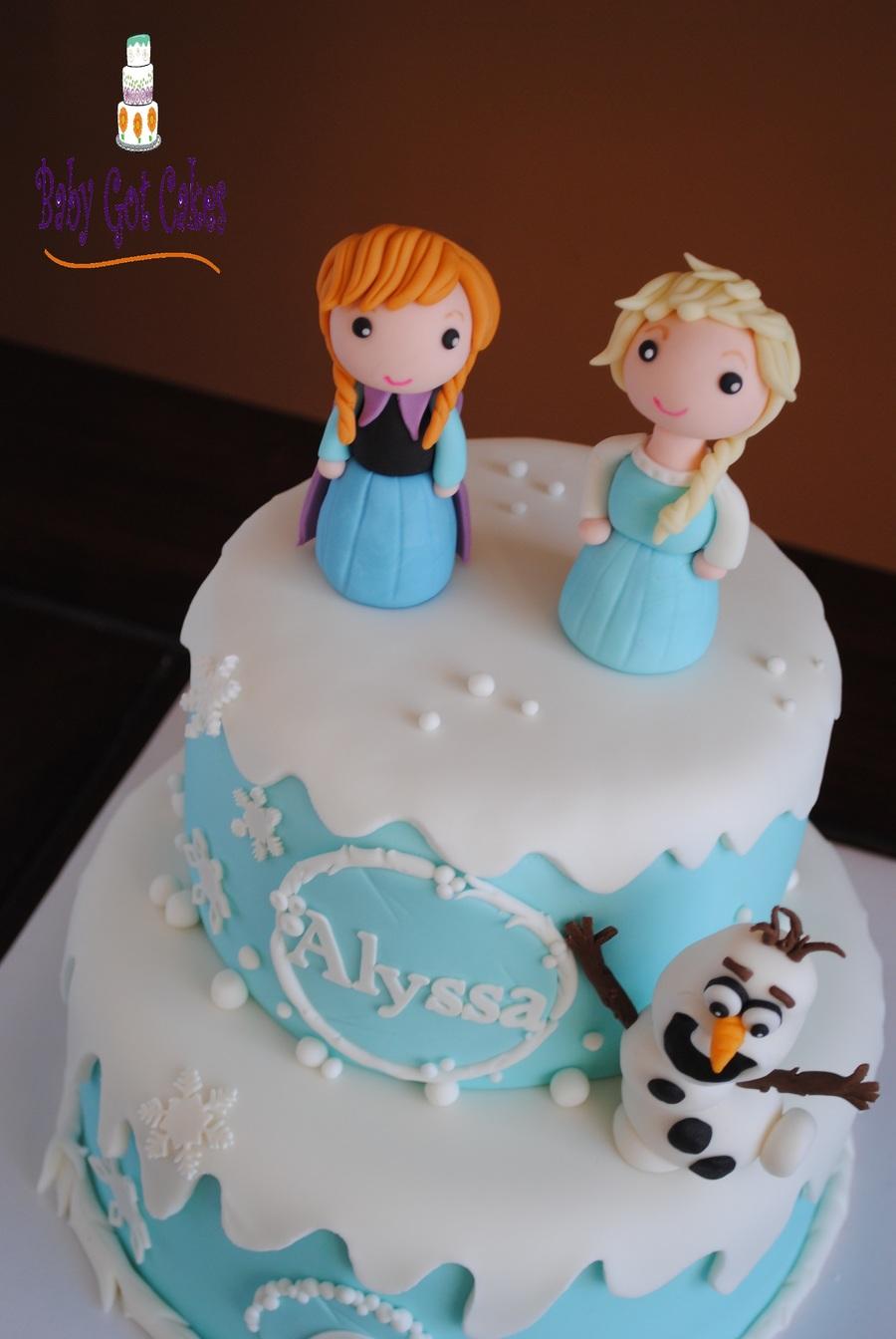 How To Make An Olaf Cake Easy