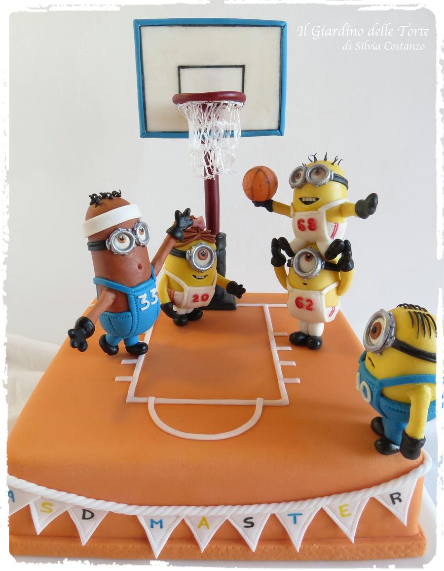 Minions Basketball Team Cake Cakecentral Com