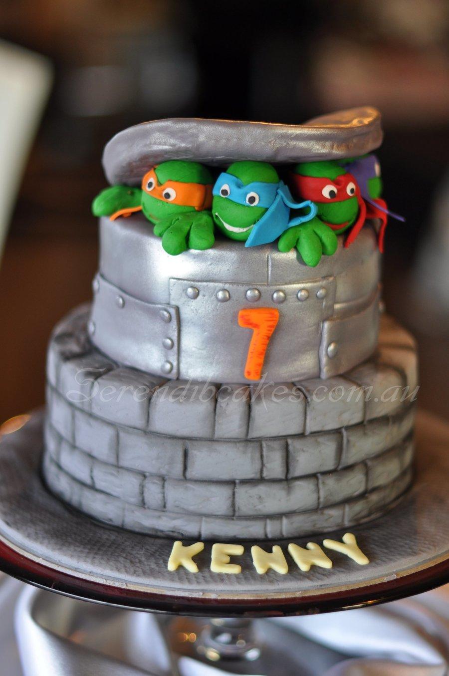 Ninja Turtle Cake Decorations