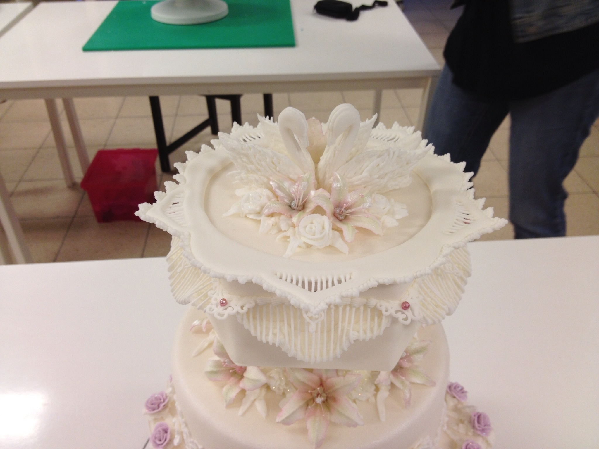 picture of royal icing wedding cake weddingcake royal icing cakecentral 18357