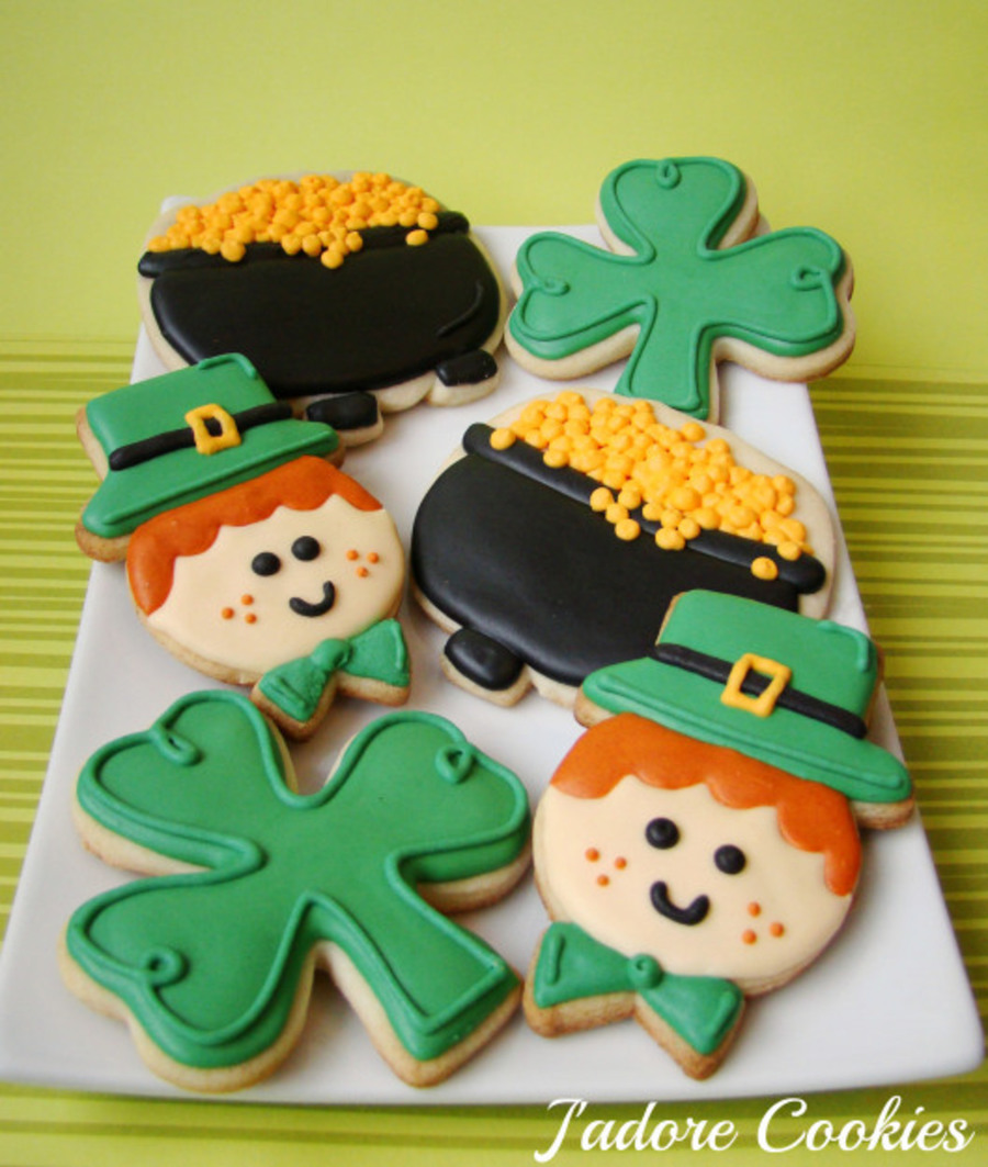 St Patricks Day Cookies on Cake Central