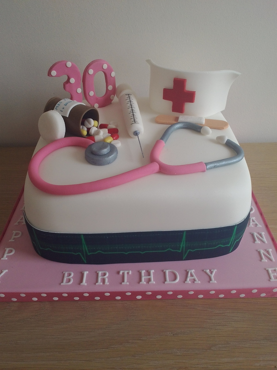 For A Special Nurse On Her Special Birthday Jam And Cream Victoria