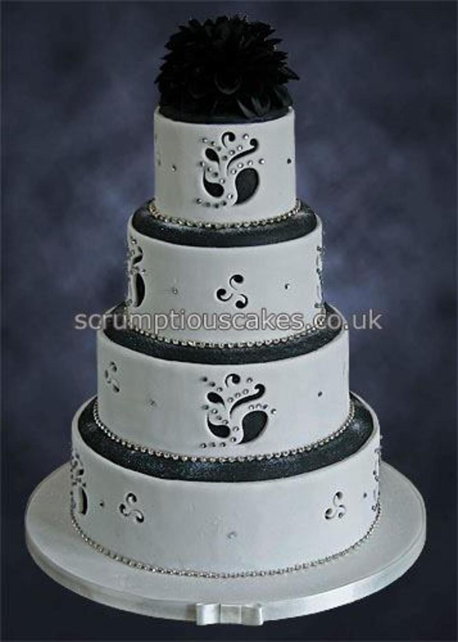 Cut Out Pattern Wedding Cake Cakecentral Com