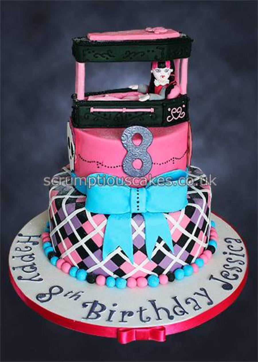 Monster High Birthday Cake CakeCentralcom