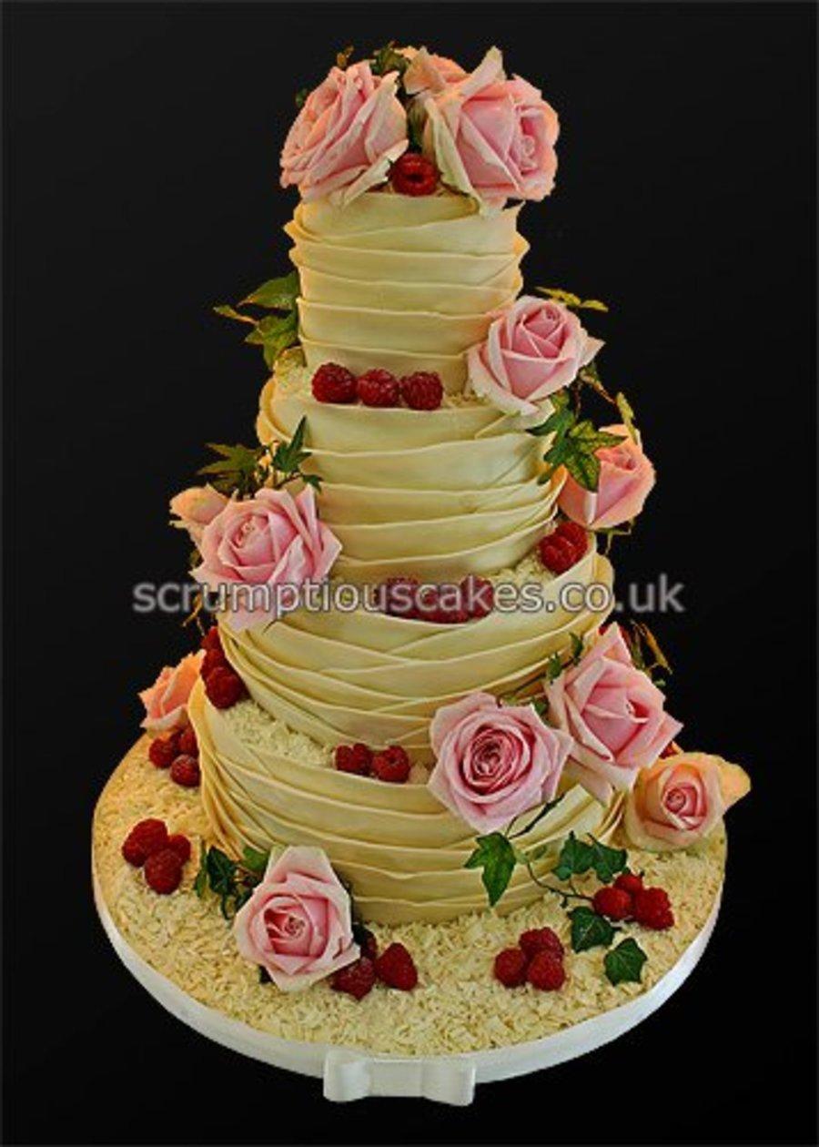 Recipe For White Chocolate Wedding Cake