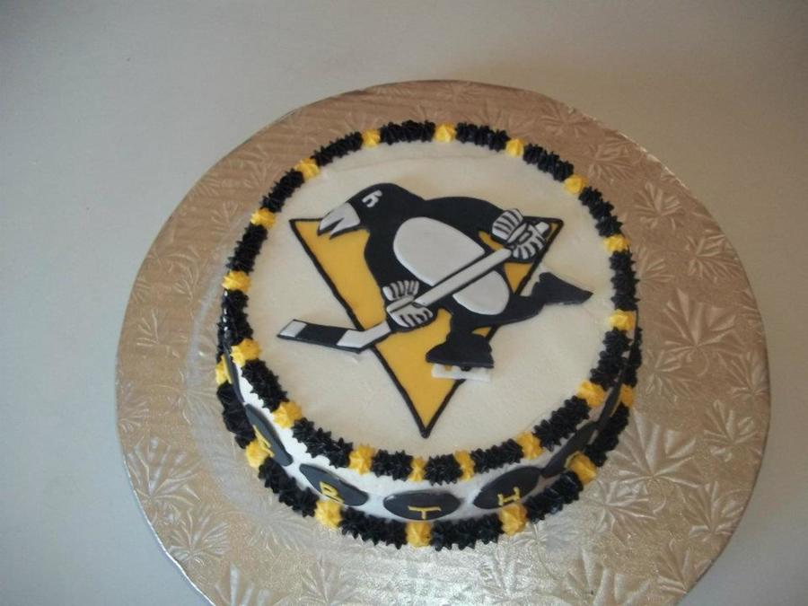 Super Pittsburgh Penguins Cakecentral Com Funny Birthday Cards Online Fluifree Goldxyz