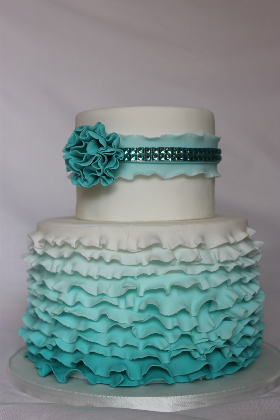 Ruffles And Bling Cake Cakecentral Com