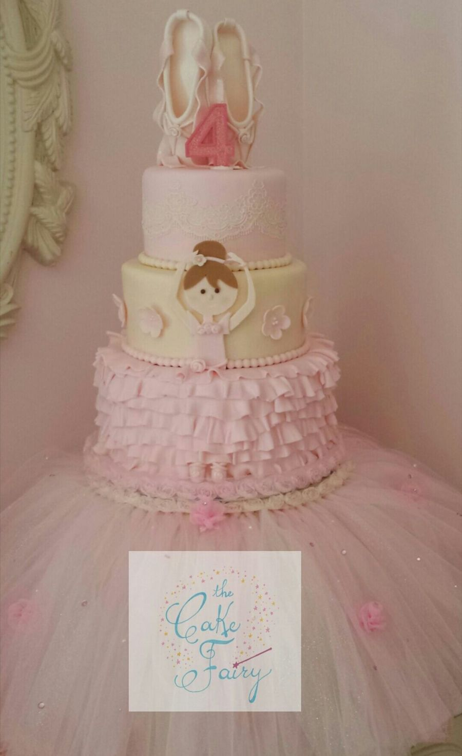 Pink Ballerina Birthday Cake Cakecentral