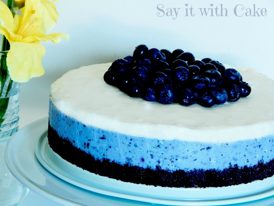 White Chocolate Blueberry Cheesecake Cakecentral Com