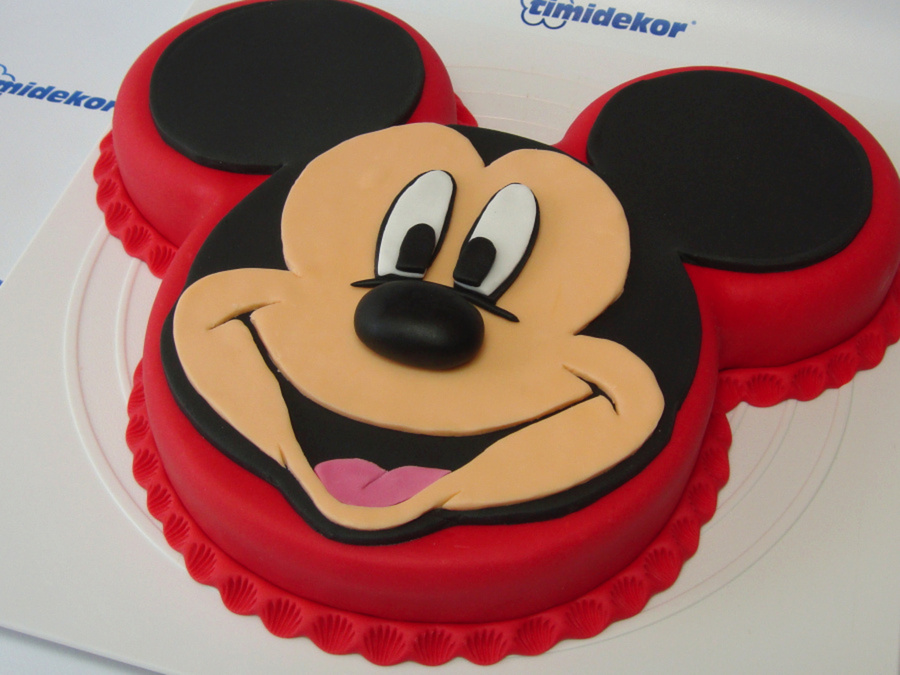 Mickey Mouse Fondant Cake Cakecentral Com