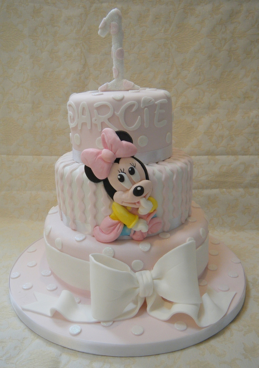 Baby Mickey Mouse Cupcake Cake