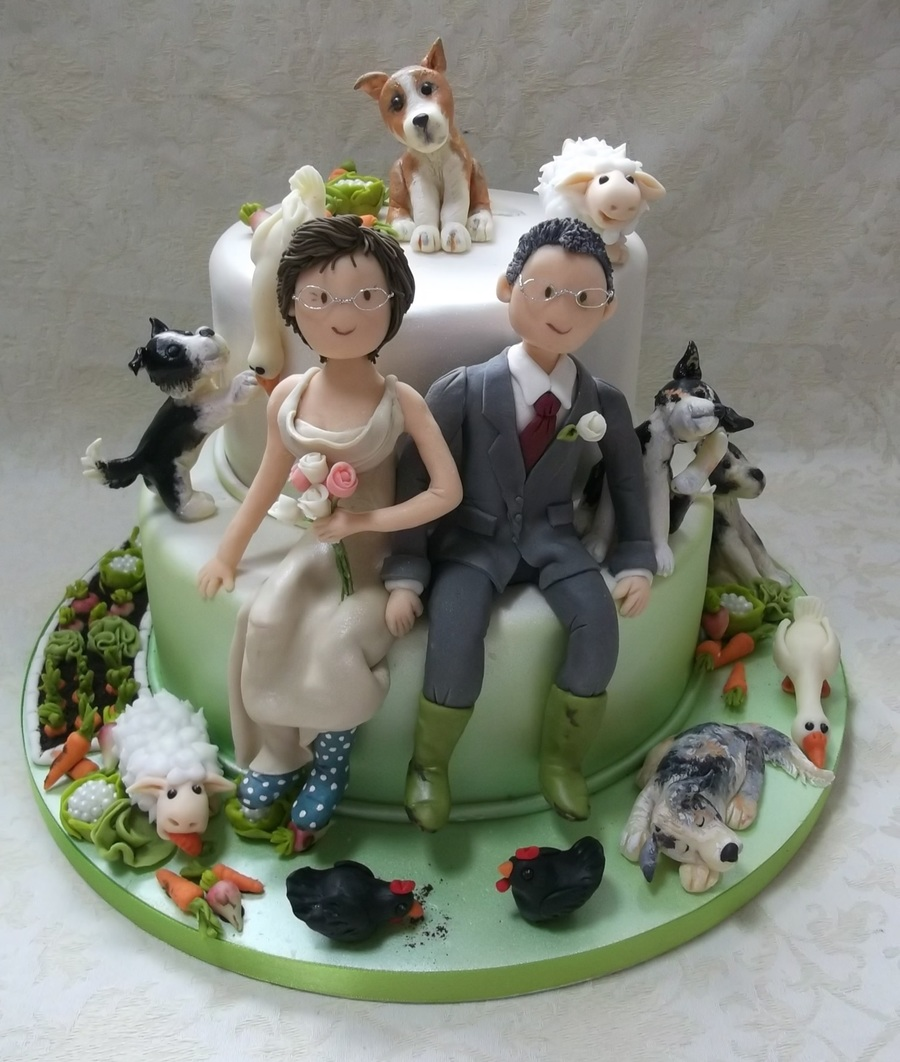 Really Enjoyed Making This Alternative Wedding Cake Not