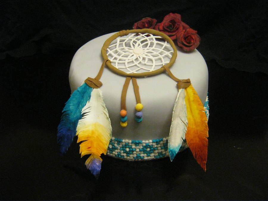 Dream Catcher on Cake Central